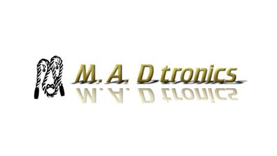 M.A.D tronics logo