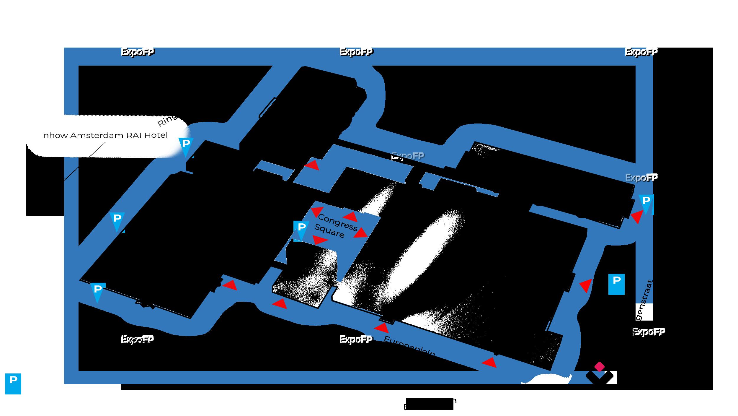 Rai Amsterdam Convention Center Floor Plan